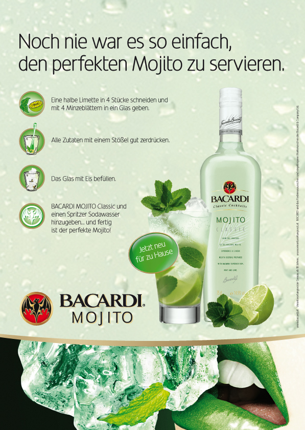 bacardi mojito classic. Black Bedroom Furniture Sets. Home Design Ideas